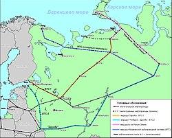 Схема газопровода омск