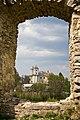 Костел. Вид через бійницю замку.jpg