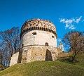 Кругла башта Острозького замку (Panorama1).jpg