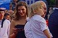 Марьяна Спивак с семьёй Кинотавр 2017.jpg