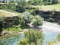 Свјетлопис мјеста гдје се ријека Зета уљева у ријеку Морачу, Подгорица.jpg