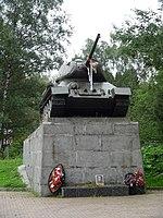 Танк Т-34 на Ленинградском шоссе.jpg