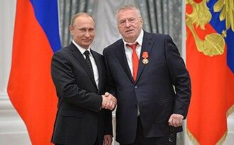 Order of Alexander Nevsky - Image: Церемония вручения государственных наград РФ 21 May 2015 37