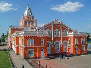 Chernihiv–Ovruch railway - Image: Чернігівський вокзал