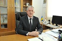 Ярослав Чайківський у робочому кабінеті, лютий 2016