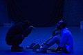 نمایش هملت در قم به کارگردانی علی علوی و گروه تئاتر گاراژ به روی صحنه رفت hamlet Garage Theater qom 06.jpg