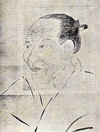 Itō Jinsai - Itō Jinsai drawn by his student