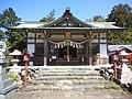 加佐登神社 - 拝殿2.JPG