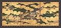 """平家物語図屏風-""""Kogō"""" and """"The Imperial Procession to Ōhara"""", from The Tale of the Heike (Heike monogatari) MET DP704877.jpg"""