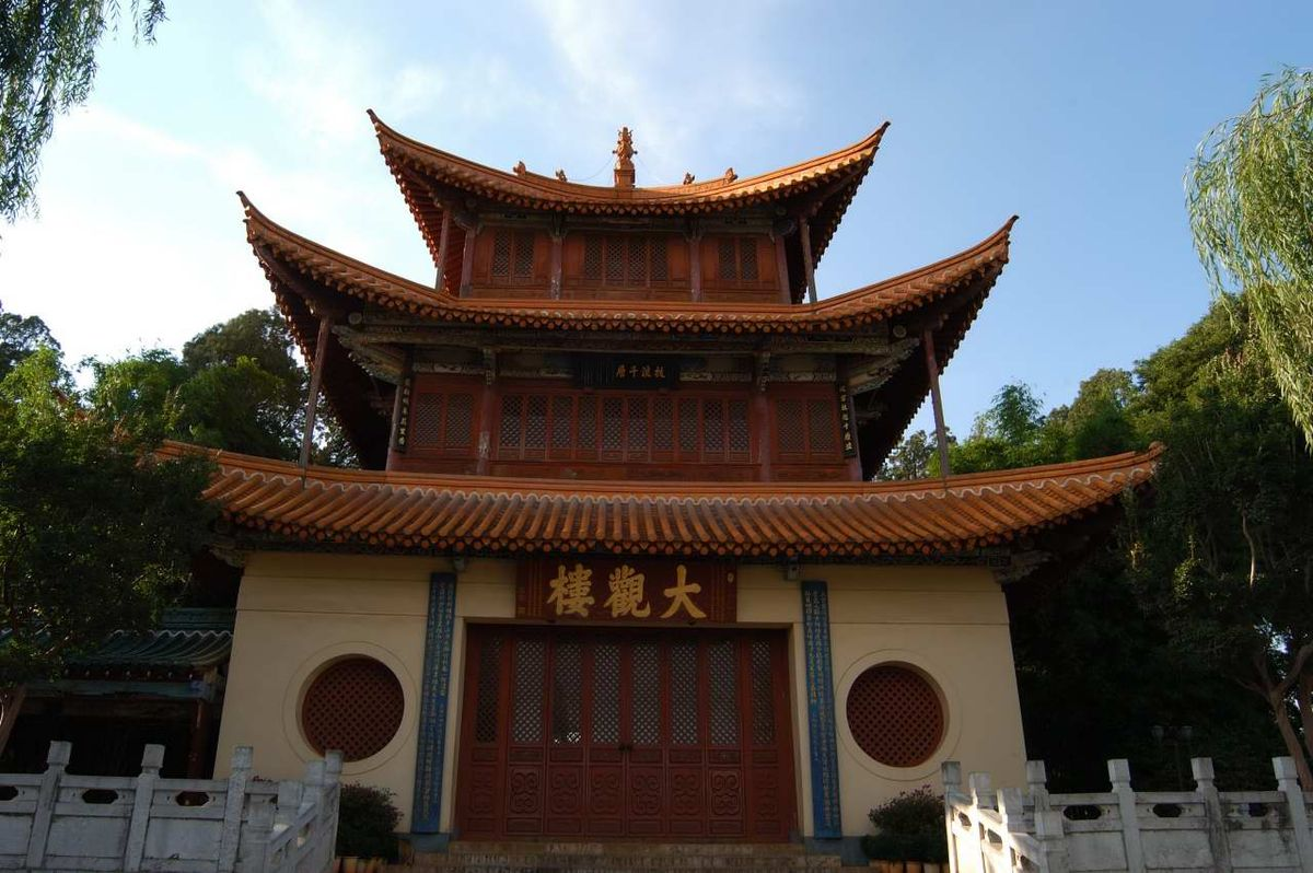 昆明市区景点_昆明-维基百科