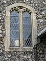 -2019-02-21 Window, Parish church of Saint John the Baptist's head, Trimingham (4).JPG