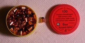.22 BB - .22 BB Cap with Container