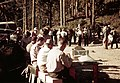 010 Fire camp timekeepers,Horseshoe Bend Fire 1939 Siskiyou NF (36209286455).jpg