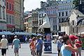 02014 Hauptmarktplatz in Krakau ....JPG