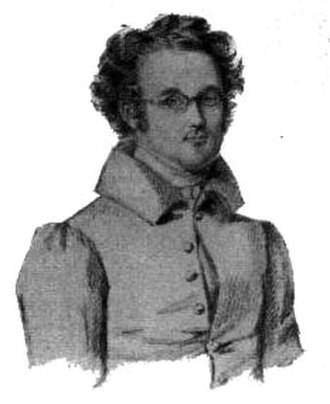 1834 in Sweden - Isak Albert Berg by Maria Röhl.