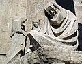 043 Sagrada Família, façana de la Passió, la negació de Sant Pere.jpg