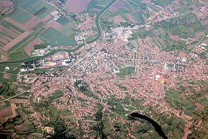 Smederevska Palanka - Aerial view