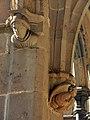 077 Sant Jeroni de la Murtra, galeria nord del claustre, mènsules.JPG