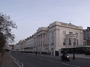Marcus Cooper (property developer) - Cornwall Terrace – no.1 is at the right hand end)