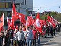 1. Mai 2013 in Hannover. Gute Arbeit. Sichere Rente. Soziales Europa. Umzug vom Freizeitheim Linden zum Klagesmarkt. Menschen und Aktivitäten (120).jpg