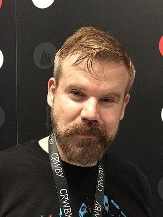 Gray Haddock - Haddock at the 2017 New York Comic Con
