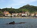 104 Platja de la Botiga, Sant Domènec, el Molí i fort de Sant Elm.jpg