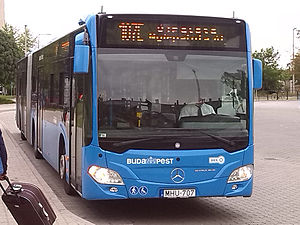 Mercedes-Benz Citaro - BKK second generation Citaro O530G in Budapest in June 2013