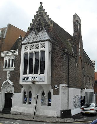 11 Dyke Road, Brighton - The building from the northeast, photographed in 2010