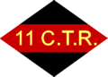 11th Canadian Army Tank Regiment unit patch.png