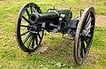 12 punds kanon på Fredericia vold.jpg
