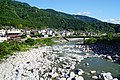 150606 Kiso River view from Momosuke Bridge Nagiso Nagano pref Japan03s3.jpg