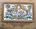 150 Plafó ceràmic de Sant Francesc d'Assís, pl. Sant Llorenç (València).JPG