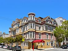 Queen Anne Hotel - Queen Anne Hotel - Wikipedia, the free encyclopedia - The Queen Anne Hotel is a hotel in San Francisco, on Sutter Street. The hotel is   an historic 1890 Victorian mansion, in the namesake Queen Anne architectural ...