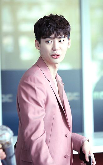 Lee Jong-suk -  At W press conference, August 2016