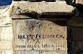 1663 Strebepfeiler Nikolaikapelle Hannover Inschrift Bildhauer Jobst Bleidoren Jost Bleidorn Johan Arent Höyer Johann Arend Hoyer, 04.jpg