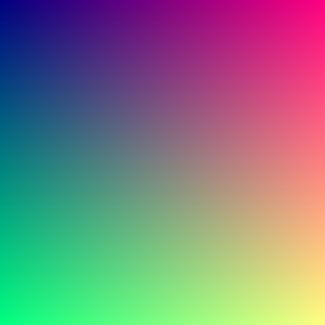 Color depth - All 16,777,216 colors (downscaled, click image for full resolution).