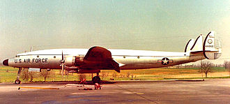 167th Airlift Squadron - 67th ATS Lockheed C-121G 54-4068