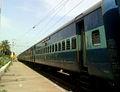 17015 (BBS-SC) Visakha Express at Marripalem 01.jpg