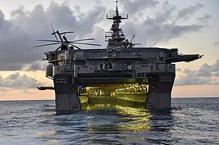Amphibious assault ship Type of warship used in amphibious assaults