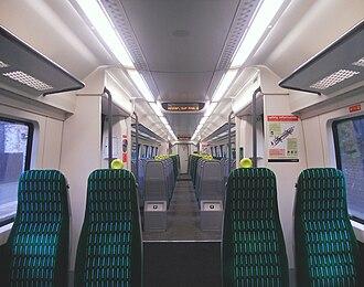 British Rail Class 172 - Image: 172342 DMSO Internal