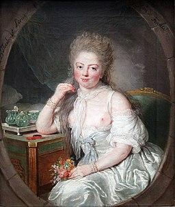 1769 Therbusch junge Frau im Negligé anagoria