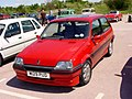 182 - August 1994 red Rover Metro 1.4 GTi, front.jpg