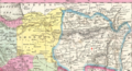 1850 Candahar detail map Persia, Arabia &c by Mitchell.png