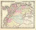 1855 Colton Map of Columbia, Venezuela and Ecuador - Geographicus - VenezuelaColumbia-colton-1855.jpg