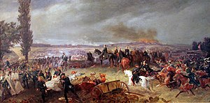 Georg Bleibtreu - Bleibtreu's Battle of Königgrätz, oil on canvas, 1866