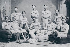 1876 St. Louis Brown Stockings season - Team photograph