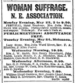 1887 woman suffrage HotelVendome BostonDailyGlobe 22May.png