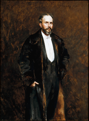 Julian Russell Story - Portrait of Ernest W. Longfellow by Julian Russell Story, 1892