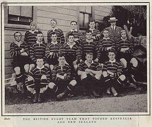 Sidney Nelson Crowther - 1904 British Isles team