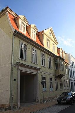Bergstraße in Schwerin